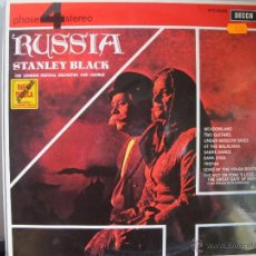 Discos de vinilo: LP - STANLEY BLACK WITH THE LONDON FESTIVAL ORCHESTRA AND CHORUS - RUSSIA (SPAIN, DECCA RECORDS 1966. Lote 56400785