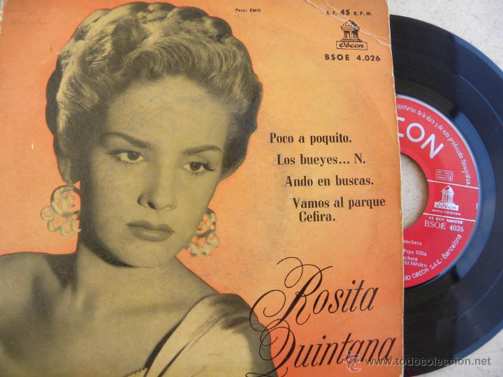 ROSITA QUINTANA -EP 1968 (Música - Discos de Vinilo - EPs - Grupos y Solistas de latinoamérica)