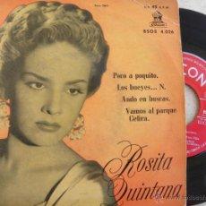 Discos de vinilo: ROSITA QUINTANA -EP 1968. Lote 40484088