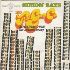 Discos de vinilo: SIMON SAYS - SIMON SAYS / REFLECTIONS FROM THE LOOKING GLASS, BUDDAH RECORDS 1968. Lote 40485304