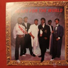 Discos de vinilo: READY FOR THE WORLD-LONG TIME COMING. Lote 40486424