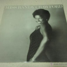 Discos de vinilo: RANDY CRAWFORD ( MISS RANDY CRAWFORD ) ENGLAN-1977 LP33 WARNER BROS RECORDS. Lote 40487633