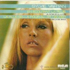 Discos de vinilo: SYLVIE VARTAN SINGLE SELLO RCA VICTOR AÑO 1980. Lote 40488165