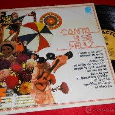 Discos de vinilo: CANTA Y SE FELIZ LP 1974 IMPACTO RUMBA RUMBAS JESUS MARISMAS CHELE RUDY VENTURA RUMBITA TRU LA LA. Lote 40488297
