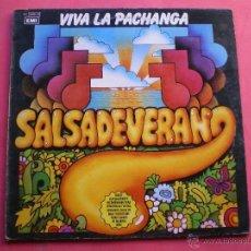 Discos de vinilo: SALSADEVERANO,VIVA LA PACHANGA,DEL 81 LP PEPETO. Lote 40498149