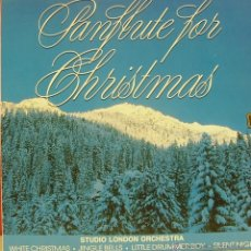 Discos de vinilo: PANFLUTE FOR CHRISTMAS LP VINILO (GERMANY). Lote 40500399
