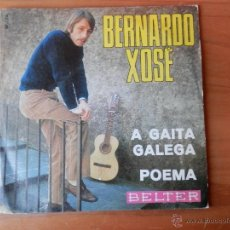 Discos de vinilo: A GAITA GALEGA. POEMA - BERNARDO XOSÉ. Lote 35328853