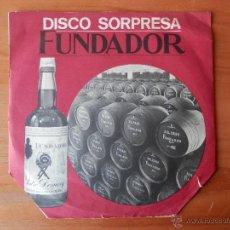Discos de vinilo: DISCO SORPRESA FUNDADOR - MÚSICA DE ESTE AÑO. Lote 35328914
