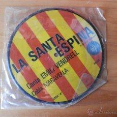 Discos de vinilo: LA SANTA ESPINA. PER TU PLORO - EMILI VENDRELL. COBLA MARAVELLA. Lote 35329131