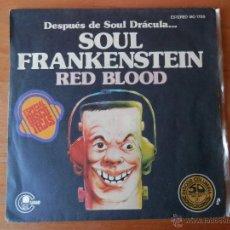 Discos de vinilo: SOUL FRANKENSTEIN. BLOOD TRANSFUSION - RED BLOOD. Lote 35329214