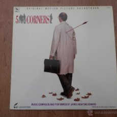 Discos de vinilo: 5 CORNERS. ORIGINAL MOTION PICTURE SOUNDTRACK - MUSIC COMPOSED AND PERFOMED BY JAMES NEWTON HOWARD. Lote 35726907