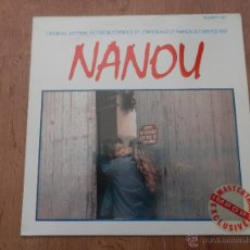 Discos de vinilo: NANOU. ORIGINAL MOTION PICTURE - MUSIC COMPOSED BY JOHN KEANE. Lote 35726909