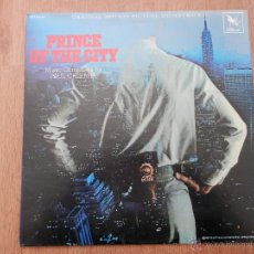 Discos de vinilo: PRINCE OF THE CITY. ORIGINAL MOTION PICTURE SOUNDTRACK - MUSIC COMPOSED BY PAUL CHIHARA. Lote 35727036