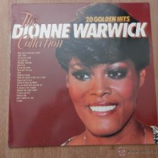 Discos de vinilo: 20 GOLDEN HITS THE DIONNE WARWICK COLLECTION - DIONNE WARWICK. Lote 35727089