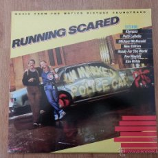 Discos de vinilo: RUNNING SCARED. MUSIC FROM THE MOTION PICTURE SOUNDTRACK - DIVERSOS AUTORES. Lote 35727226