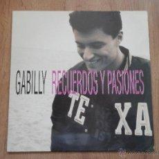 Discos de vinilo: RECUERDOS Y PASIONES - GABILLY. Lote 36040047