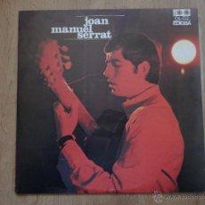 Discos de vinilo: ELS SETZE JUTGES - JOAN MANUEL SERRAT. Lote 36040102