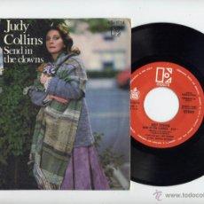 Discos de vinilo: JUDY COLLINS 45 RPM SEND IT FLOWERS 1972. Lote 40509179