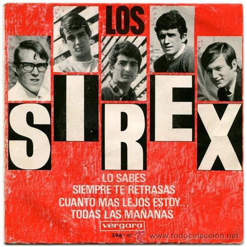 LOS SIREX - LO SABES + 3 - (VERGARA-1966) GARAGE BEAT EP (Música - Discos de Vinilo - EPs - Grupos Españoles 50 y 60)