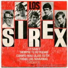Discos de vinilo: LOS SIREX - LO SABES + 3 - (VERGARA-1966) GARAGE BEAT EP. Lote 40509562