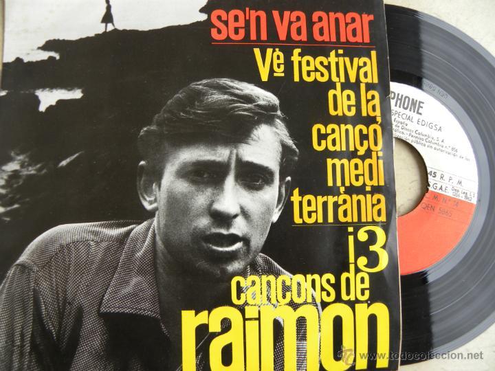 RAIMON -EP 1962 -BUEN ESTADO (Música - Discos de Vinilo - EPs - Cantautores Españoles)