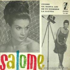 Discos de vinilo: SALOME EP SELLO ZAFIRO AÑO 1965. Lote 40519312