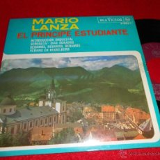 Discos de vinilo: MARIO LANZA EL PRINCIPE ESTUDIANTE CALLINICOS E.DOUBLEDAY 7 EP 1966 RCA VICTOR ESPAÑA SPAIN. Lote 40522176