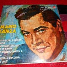 Discos de vinilo: MARIO LANZA PUCCINI TOSCA/VERDI RIGOLETTO/LEONCAVALLO/PONCHIELLI GIOCONDA 7 EP1964 RCA VICTOR ESPAÑA. Lote 40522189