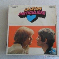 Discos de vinilo: LA LEÇON PARTICULIERE -WHERE DID OUR SUMMERS GO + 3 EP FRANCE. Lote 40529552