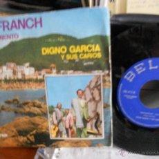 Dischi in vinile: DIGNO GARCIA-SINGLE LLAFRANCH-1974. Lote 171336753