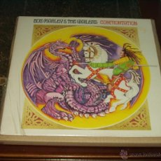 Discos de vinilo: BOB MARLEY & THE WAILERS LP CONFRONTATION. Lote 105606740