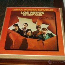 Discos de vinilo: MITOS LP ES MUY FACIL. Lote 40539706