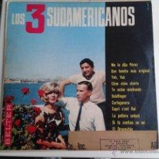 Discos de vinilo: LOS 3 SUDAMERICANOS - ME LO DIJO PÉREZ LP BELTER BL-22001 EDICION AMERICANA USA RARO UNA CHICA YE-YE. Lote 40541844