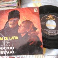 Discos de vinilo: DOCTOR ZHIVAGO-EP BSO DEL FILM -TEMA DE LARA-1966. Lote 40544842