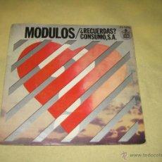 Discos de vinilo: MODULOS - 1976. Lote 40544914