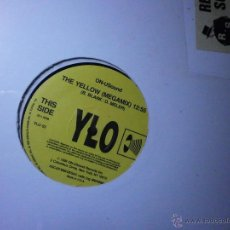 Discos de vinilo: 12 - MAXI. THE YELLOW -MEGAMIX. Lote 25928694