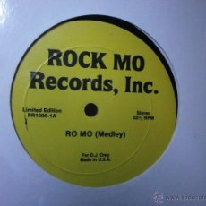 Discos de vinilo: MAXI - RO MO (MEDLEY) LIMITED EDITION FOR D.J.ONLY U.S.A.. Lote 40546989