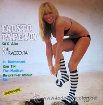 FAUSTO PAPETTI - 3ª RACCOLTA - 1978 - SEXY COVER (Música - Discos - LP Vinilo - Orquestas)
