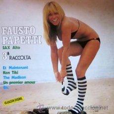 Discos de vinilo: FAUSTO PAPETTI - 3ª RACCOLTA - 1978 - SEXY COVER. Lote 188469360