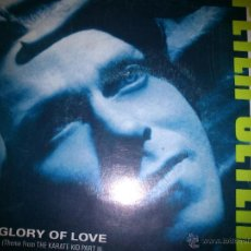 Discos de vinilo: PETER CETERA :GLORY OF LOVE - ON THE LINE BSO KARATE KID 3. Lote 40549366