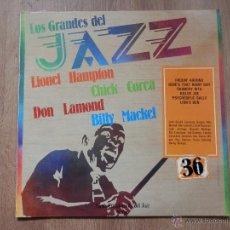 Disques de vinyle: LOS GRANDES DEL JAZZ. GRAN ENCICLOPEDIA DEL JAZZ. Nº 36 - LIONEL HAMPTON. CHICK COREA. DON LAMOND. B. Lote 36136734