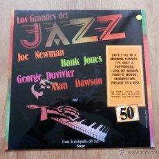 Disques de vinyle: LOS GRANDES DEL JAZZ. GRAN ENCICLOPEDIA DEL JAZZ. Nº 50 - JOE NEWMAN. HANK JONES. GEORGE DUVIVIER. A. Lote 36136804