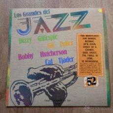 Discos de vinilo: LOS GRANDES DEL JAZZ. GRAN ENCICLOPEDIA DEL JAZZ. Nº 52 - DIZZY GILLIESPIE. GIL FULLER. BOBBY HUTCHE. Lote 36136807