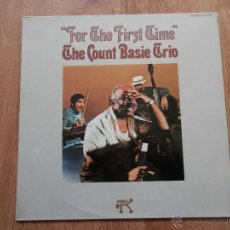 Dischi in vinile: FOR THE FIRST TIME - THE COUNT BASIE TRIO. Lote 36138047