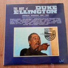Discos de vinilo: TE BEST OF DUKE ELLINGTON. ORIGINAL SESSIONS 1942/1946 - DUKE ELLINGTON AND HIS FAMOUS ORCHESTRA. Lote 36138282