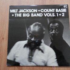 Discos de vinilo: THE BIG BAND, VOLS, 1 + 2 - MILT JACKSON. COUNT BASIE. Lote 36138354