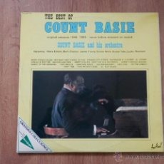 Discos de vinilo: THE BEST OF COUNT BASIE. ORIGINAL SESSIONS 1944-1945, NEVER BEFORE RELEASED ON RECORD - COUNT BASIE . Lote 36328876