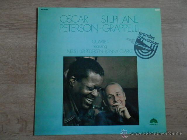 OSCAR PETERSON. STEPHANE GRAPPELII QUARTET - OSCAR PETERSON. STEPHANE GRAPPELLI QUARTET. FEATURING N (Música - Discos - LP Vinilo - Jazz, Jazz-Rock, Blues y R&B)