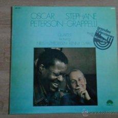 Discos de vinilo: OSCAR PETERSON. STEPHANE GRAPPELII QUARTET - OSCAR PETERSON. STEPHANE GRAPPELLI QUARTET. FEATURING N. Lote 36329969