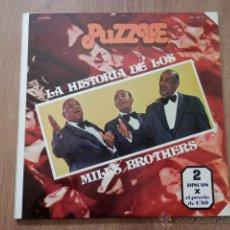 Discos de vinilo: LA HISTORIA DE LOS MILLS BROTHERS - MILLS BROTHERS. Lote 36331550